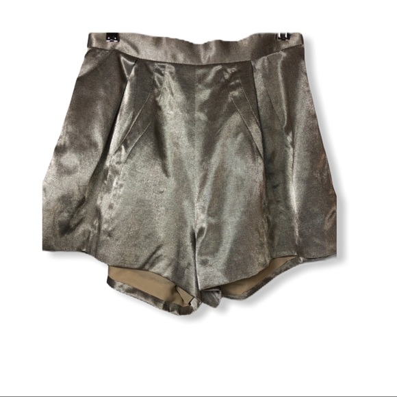 Finders Keepers Metallic Shorts